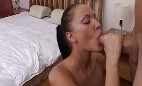 Brunette Baldracca fucked by her badass brother